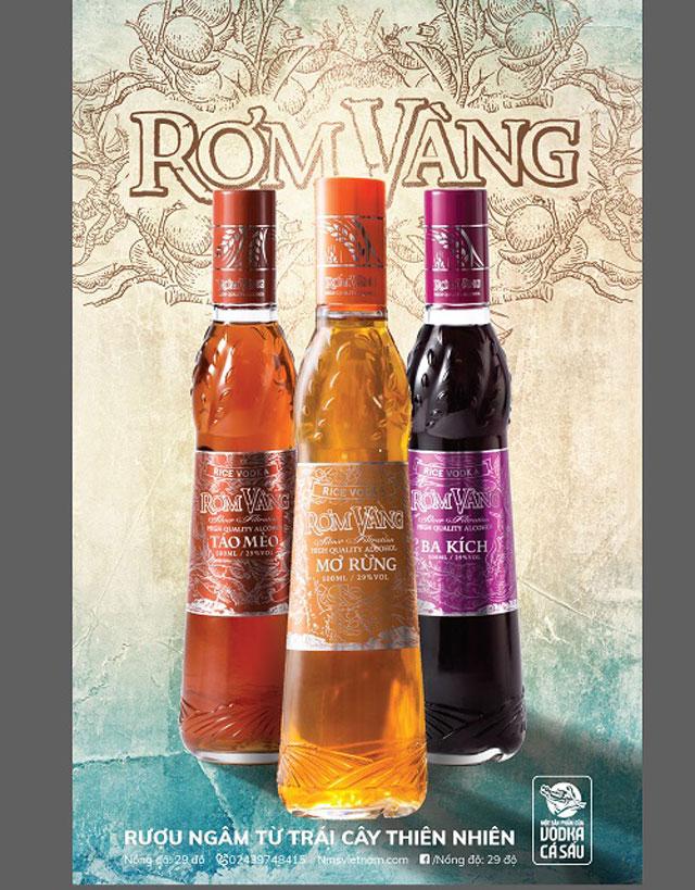 Thương hiệu Rơm Vàng - chuyên cung cấp các sản phẩm rượu có lợi cho sức khỏe
